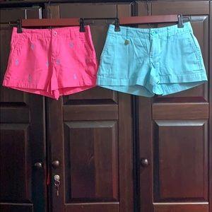 Girls Polo Shorts
